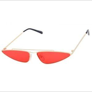 Red aviator sunglasses 🕶